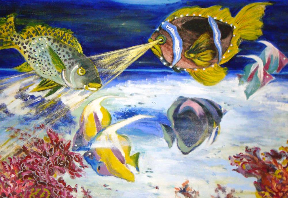 Meeresgeflüster 80x60,5 (2.Preis beim Internetvoting vom htp-malwettbewerb