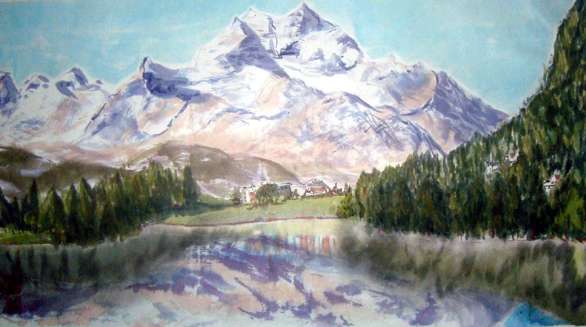 Schweitzer Landschaft 40x70