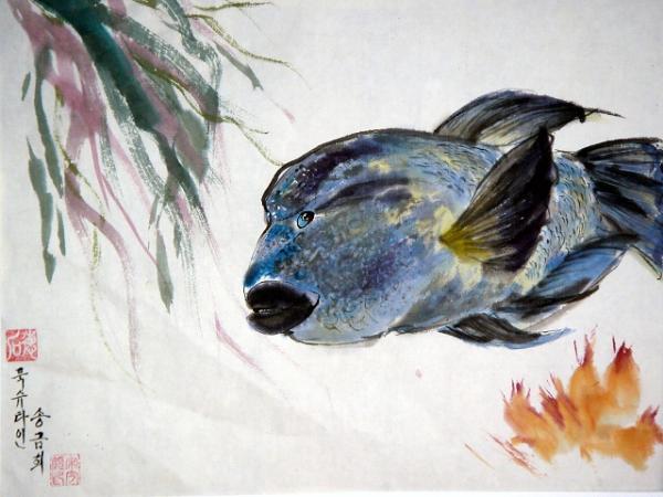 Besenschwanzlippfisch