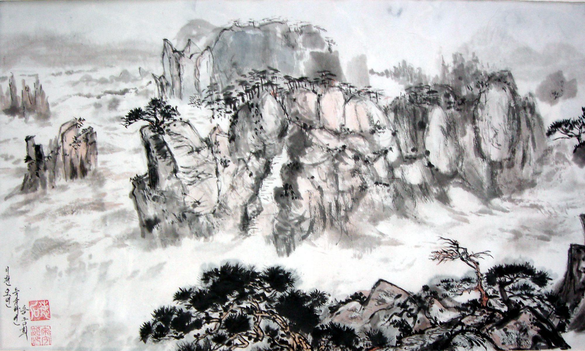 Asia-Malerei